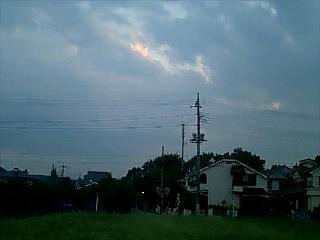 羽村、くじら公園のあたり