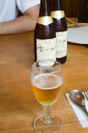 香鈴teiの富士山ビール