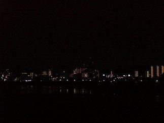府中四谷橋から見た聖蹟桜ヶ丘